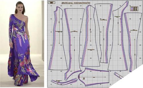 готовые выкройки женской одежды